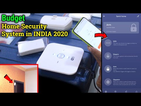 Best Budget Home Security System In INDIA 2020 | Safety First Technology
