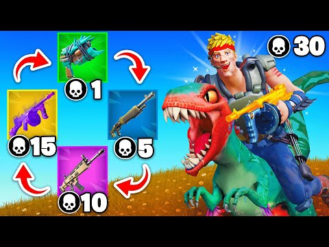 MYTHIC WEAPONS are BACK!! (Fortnite)