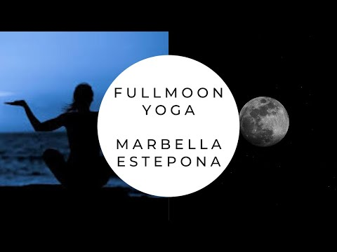 Full moon yoga in Spain by the sea, also holistic healing retreats under the moon