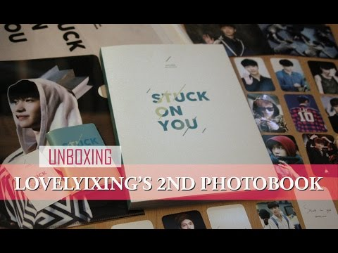 Unboxing: Lovelyixing's 2nd Photobook - Stuck On You (Lay)