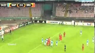 Video Gol Pertandingan Napoli vs Club Brugge