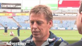 Geelong Cats - Bomber press conference