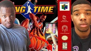 UNBLOCKABLE DUNKS! - NBA Hangtime N64 | #ThrowbackThursday ft. Juice