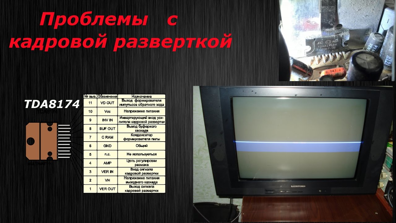 телевизор rainford tv-3711 схема