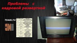 Проблемалар кадр разверткой теледидар rainford (Ақ жолақ )