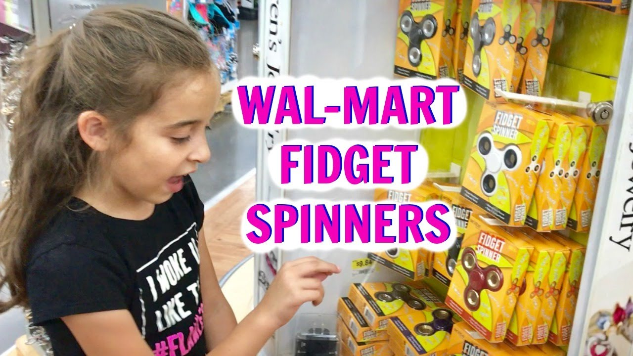 New Fidget Spinners At Walmart Youtube