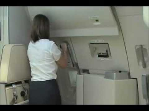 Aircraft door safety devices & Aircraft door safety devices - YouTube Pezcame.Com