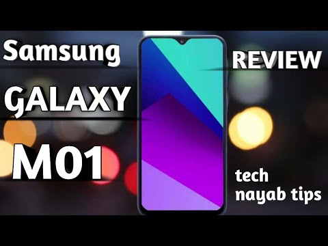 SAMSUNG GALAXY M01 REVIEW