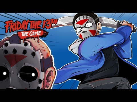 Friday The 13th - I'M OP! SAVING CARTOONZ! (KILLING JASON VOORHEES!)