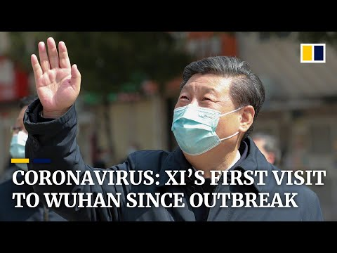 Chinese President Xi Jinping Visits Wuhan For First Time Since Start Of Coronavirus Outbreak