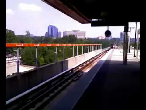 View from Dunwoody Station - MARTA