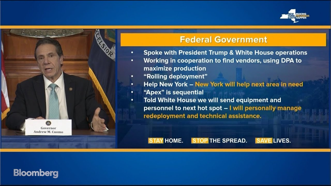 Gov. Cuomo says New York may need federal help to pay ...