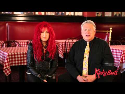 Cyndi Lauper​ & Harvey Fierstein​ invite San Francisco to Kinky Boots