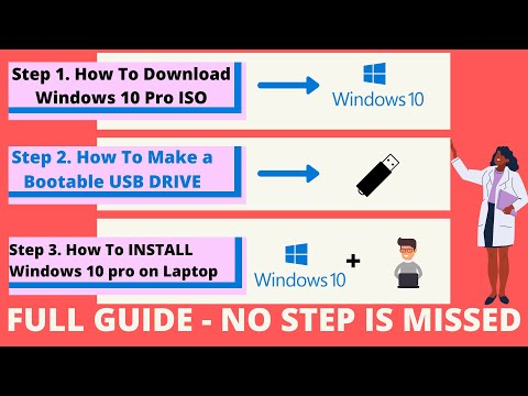 How To Download Windows 10 Iso, Make USB Bootable And How To Install Windows 10 On PC Or Laptop