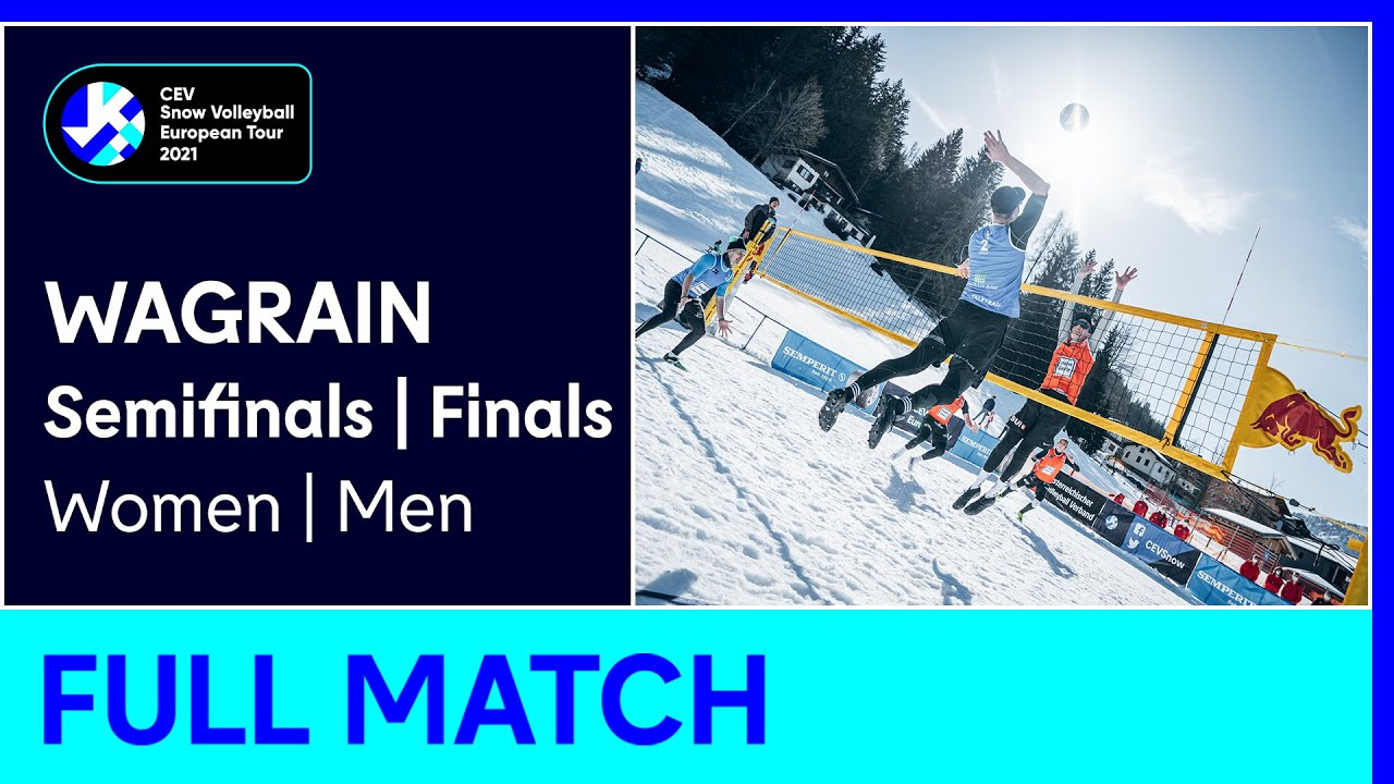 CEV Snow Volleyball European Tour 2021 - Wagrain