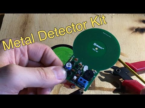 Metal Detector Kit assembly