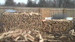 Seasoned Firewood for sale; Chris Orser Landscaping