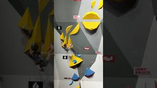 Adam Ondra climbing lead in Combined Finals @WC 2018