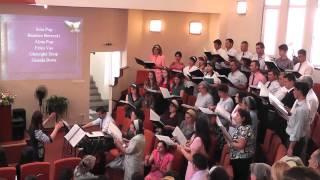 """Corul Bisericii Baptiste """"Biruinţa"""" Baia Mare - Ce iubire fără margini! - 05.07.2015"""