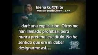 Elena G White y Juan el bautista 1 de 3