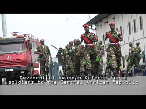 USARAF Assists Rwandan Defense Forces Deployment to the Central African Republic