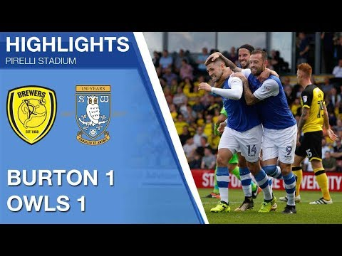 Burton Albion 1 Sheffield Wednesday 1 | Extended highlights | 2017/18