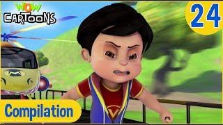 Vir The Robot Boy | Hindi Cartoon | Action Cartoons for Kids | Compilation #24 | 3D Cartoons