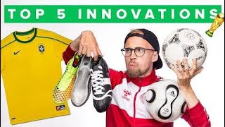 TOP 5 BIGGEST WORLD CUP FOOTBALL INNOVATIONS