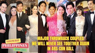 Star Magic BALL THROWBACK COUPLES We Will Never SEE AGAIN at ABS CBN BALL 2019