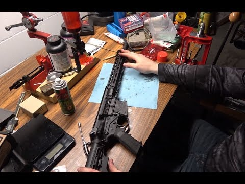 ATI OMNI AR15 1000 Rounds:  Disassembly/Cleaning