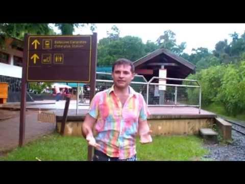 Водопады ИГУАСУ. Бразилия, Аргентина.  Чудеса света. The IGUAZU Waterfalls. Brazil, Argentina.