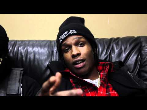 A$AP Rocky Talks Sneakers and Favorite Shoe Brands with UpscaleHype