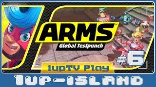 ARMS: Global TestPunch [Preview #6] Spring Man vs. Ribbon Girl! (Nintendo Switch)