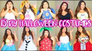 15 DIY Halloween Costumes! Last Minute, Cute & Easy!
