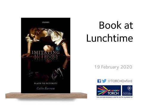 Book at Lunchtime: Imitating Authors