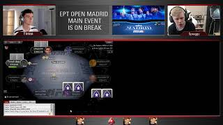 Fintan and Spraggy Present: EPT Open Madrid Final Table