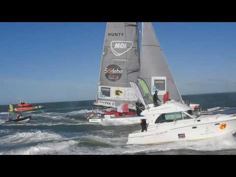 Vendée Globe 2016-2017 Fa Nándor befutója Spirit of Hungary BrigiPix média