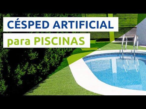C sped artificial para piscinas youtube - Cesped artificial piscinas ...