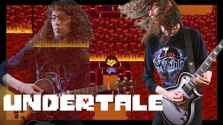 Undertale Another Medium / Hotland Theme - Metal Cover || ToxicxEternity