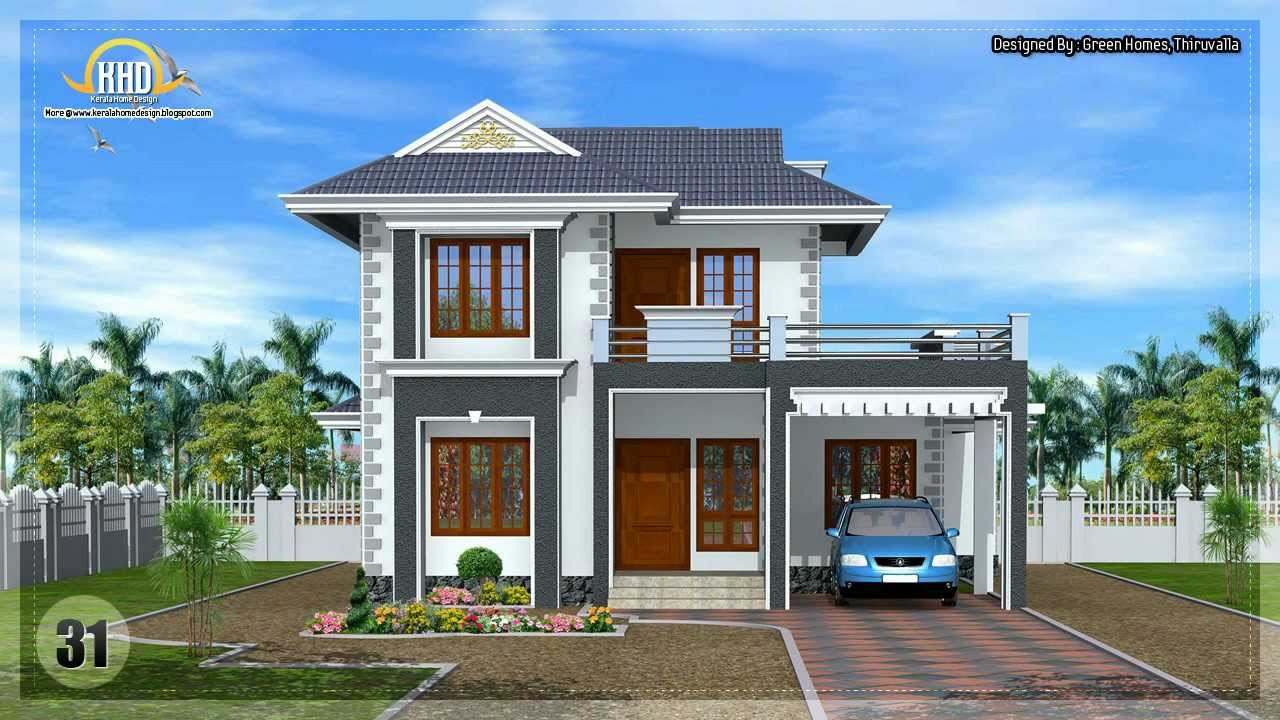 Architecture house plans compilation august 2012 youtube for Architects house plans