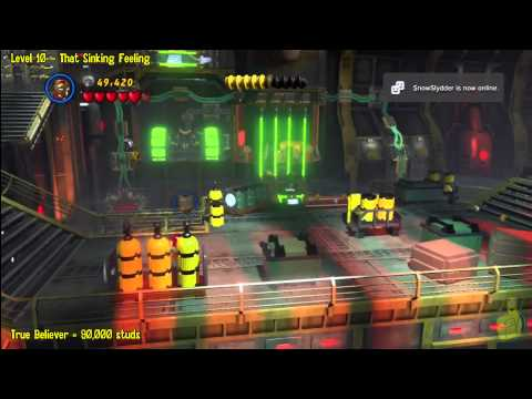 Lego Marvel Super Heroes: Level 10 That Sinking Feeling - Story Walkthrough - HTG