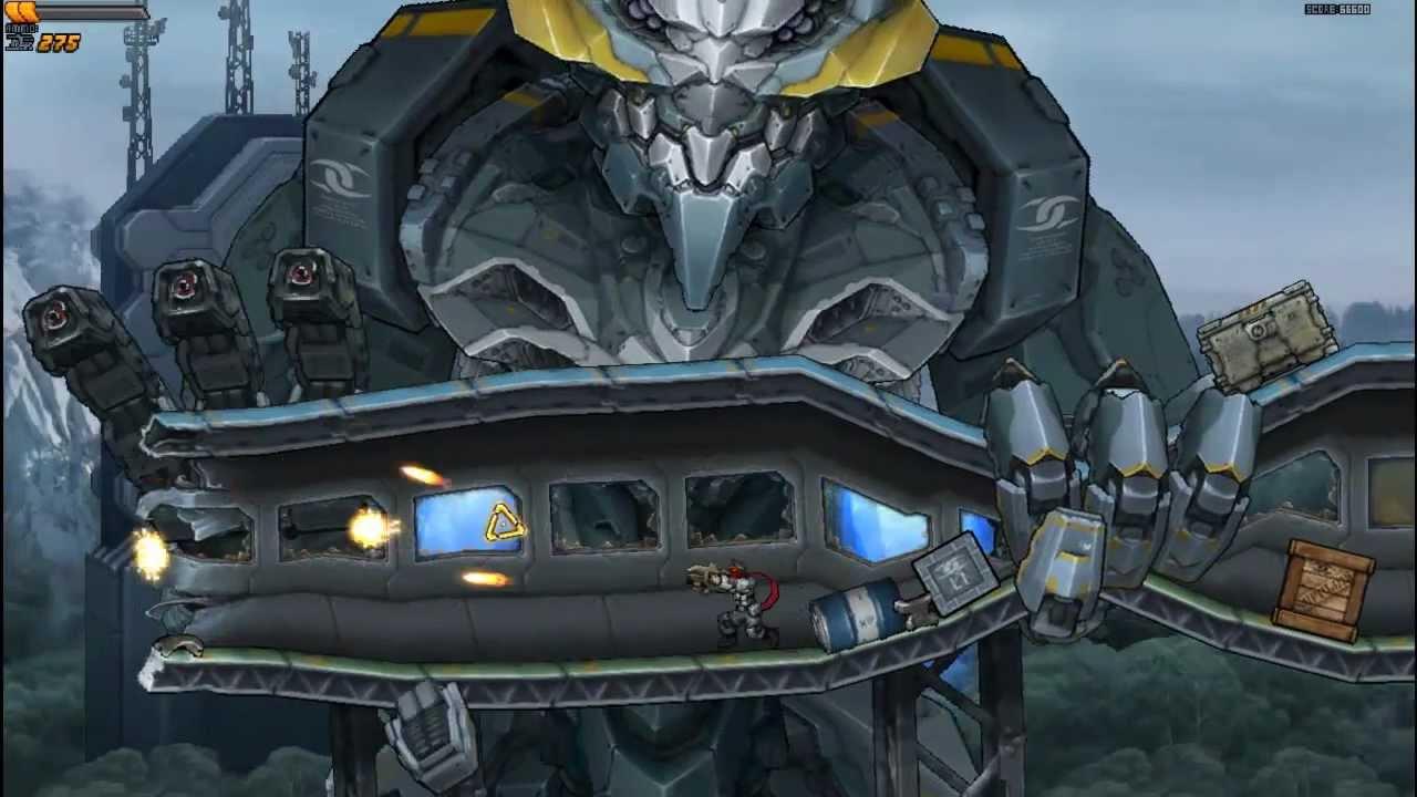 Intrusion 2 - Final boss M.A.C.E. - YouTube