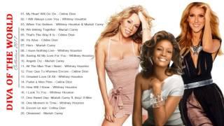 Mariah Carey, Celine Dion, Whitney Houston: Лучшие Хиты - Лучшие Песни Мировых Див