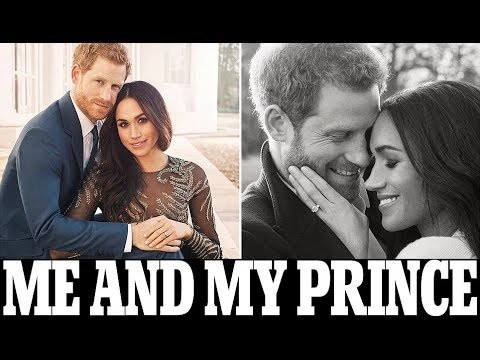 Prince Harry and Meghan Markle show the look of love in official engagement pictures