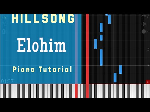 Download Elohim - Hillsong Piano Tutorial Instrumental