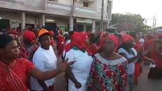 Braquage électoral, les femmes de Grand -Bassam réclament justice.