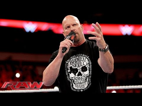 """Stone Cold"" Steve Austin returns to..."