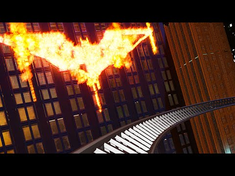 BATMAN! High-Speed MOVIE Roller Coaster! (POV) |