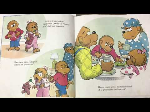 """""""Forget Their Manners: The Berenstain Bears"""" - Children's Book Narration"""