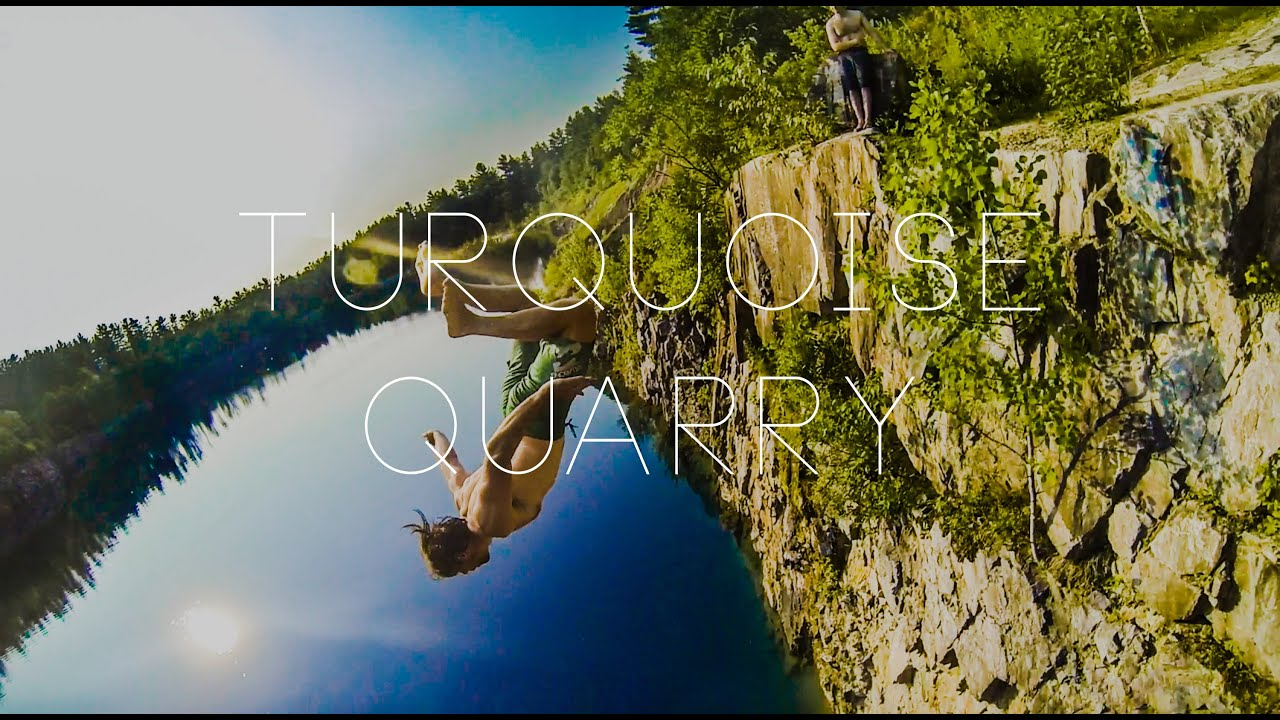 Vermont Cliff Jumping: Turquoise Quarry
